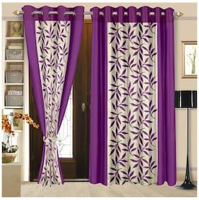 Cortina New Set Of 2 Door Curtain (2Pc)