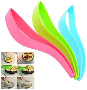 CPEX Plastic Kitchen Ergonomic Design Cake Pastry Server Cutter And Slicer