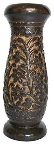 CraftShoppee Handcarfted Wooden Flower Vase Home Decorative Items 8 inch