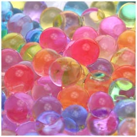 Crazy Sutra Colorful Magic Crystal Water Jelly Mud Soil Beads Balls 500 pc (approx)-Mixed Color [T-WATERBeads-500 pc (approx)]