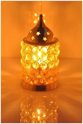 Crazy Sutra Brass Diamond Crystal Nag Deep Akhand Jyot Diya Oil Lamp / Pooja Item / Home Decor House Warming Gift | Pooja Lamp