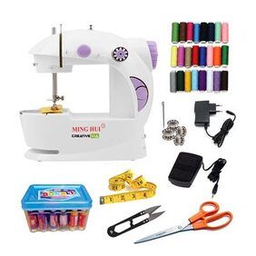 Creative Via Portable And Compact With Foot Pedal Electric Sewing Machine
