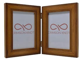 Crimson Knot Designer Photo Frame Layered Birch Wood