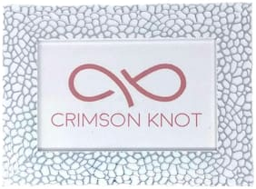 CRIMSON KNOT Mdf with melamine Silver Single frame ( Set of 1 )
