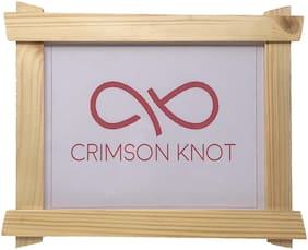 CRIMSON KNOT Wood Brown Single frame ( Set of 1 )