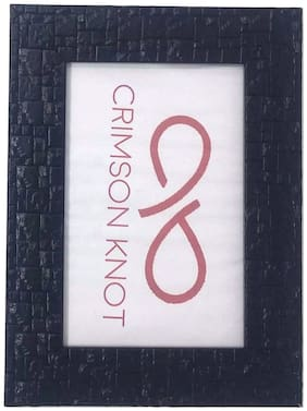 CRIMSON KNOT Plastic Black Single frame ( Set of 1 )