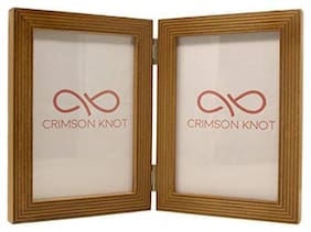Crimson Knot Designer Photo Frame Birch Wood