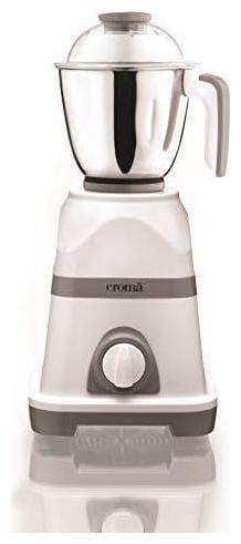 Croma CRAK4181 550 W Mixer Grinder ( White & Grey , 3 Jars )