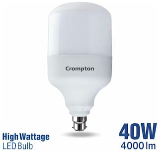 Crompton 40 W B22 LED Bulb;Cool Day Light