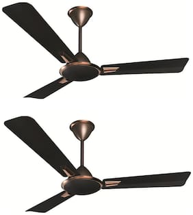 Crompton Aura Prime Anti Dust 1200MM Ceiling Fan (Onix) Pack of 2