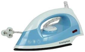 Crompton BRIO 1000 W Dry Iron (Sky Blue)