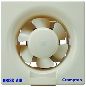 Crompton Brisk 250 mm Standard Exhaust Fan ( Ivory , Pack of 1 )