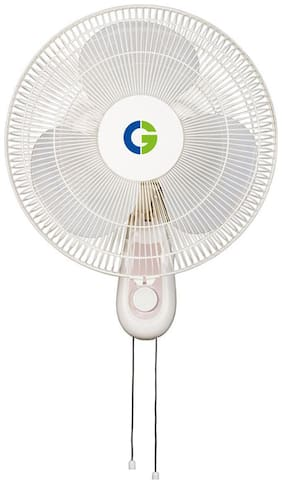 Crompton HighFloLG 400 mm Decorative Wall Fan ( White , Pack of 1 )