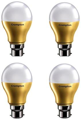 Crompton Led Lamp 7W B22 Cdl Anti Bacterial Pack Of 4