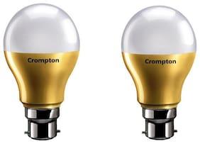 Crompton 9W LED Lamp B22 CDL Anti Bacterial Pack Of 2
