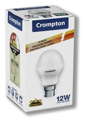 Crompton 12 Watt B22 LED Pro Bulb, Cool Day Light