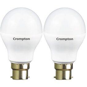 Pack of 2 Crompton LED Bulb 7W - Cool Day Light