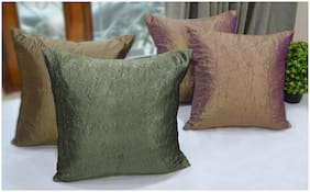 Crushed textured cushion cover (Set of 4 pc)
