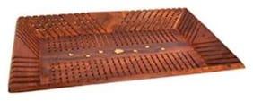 CRUZ INTERNARIONAL Handicrafts Wooden Rect Lining Tray