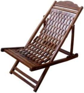 CRUZ INTERNATIONAL Wooden Hand-carved Resting Chair