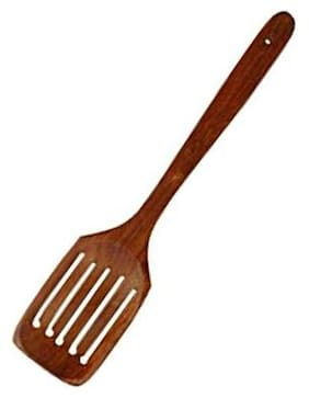 CRUZ INTERNATIONAL Wooden Serving and Cooking Spoons Non Stick