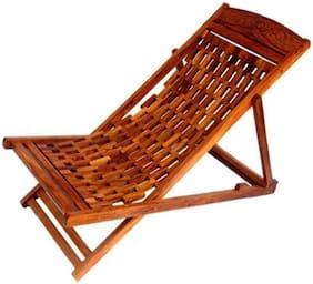 CRUZ INTERNATIONAL Folding Garden Easy Chair In Sheesham Wood