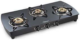 Sunflame SUNFLAME 3 Burners Gas Stove - Black