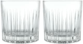 Dollar store CRYSTAL CUT WHISKY GLASS-PACK OF 2