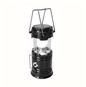 Crystal Digital 6+1 LED Solar Emergency Light Lantern + USB Mobile Charging+Torch point, Power Source: Solar, Lithium Battery, Travel Camping Lantern