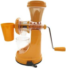 Crystal Digital Juicer Cup,Juicer Machine -Mini Portable USB Rechargeable Plastic Hand Juice (Orange)