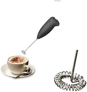 CHG Hongxin Mini Electric Battery Operated Hand Blender Coffee Milk Juice Egg Beater frother Whisker (Colour May Vary)