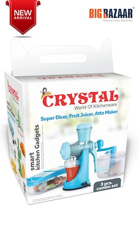 Crystal Smart Kitchen Gadget 3 pcs Combo Set - (Assorted colour)