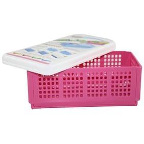 CSM Flexi Fold Space Saving Multipurpose Box- Pink