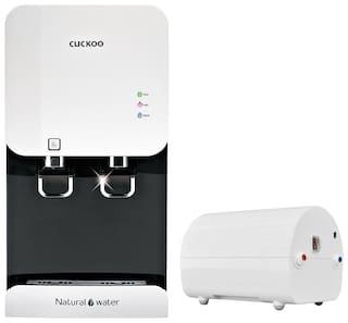 Cuckoo Fusion Top Hot & Cold Stainless Steel 5.2-Litre RO 15Ltr/Hr Water Purifier (White)