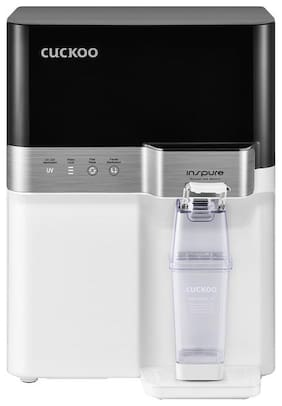 Cuckoo (Dew Pond) CP-RRP702MBK 7.5 RO + UV +UF Water Purifier (Black and White)