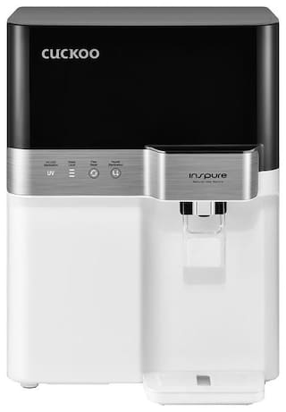 Cuckoo Dewpond 7.5-Litre RO+UV+UF 7 Stage Filteration 15Ltr/Hr Water Purifier with Mineral Enhancer