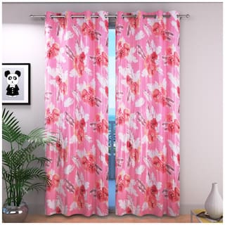 Curtains For Window 5 Feet By Laying Style Curtains 5 Feet Set Of 2 Pc Two Pc Curtains For Bedroom Window Curtains Living Room Windows 100