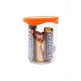 Cutting Edge Seal N Kiss Air Tight Premium Storage Containers Combo (3 Pcs)(Cnady Orange) (Net: 3260 Ml)