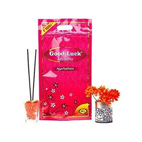 Cycle Pure Agrabathies Good Luck Dual Pack Javadhu Incense Sticks 300 Grams each with Javadhu Fragrances