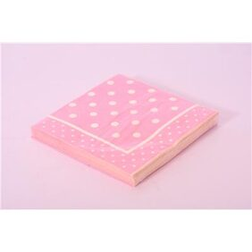 D&F Printed Pack of 20 Disposable Paper Napkins (L1205A)
