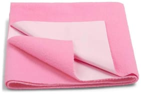 Daksh Fleece Single Mattress ( Pink )