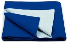 Daksh Fleece Single Mattress ( Blue )