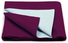 Daksh Fleece Single Mattress ( Purple )