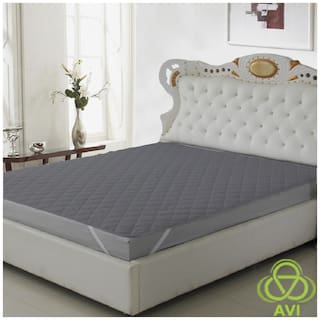 Daksh Polyester Single beds Mattress protectors