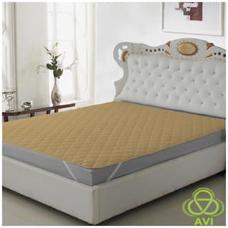 Daksh Polyester Single beds Mattress protectors