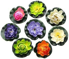 Dannyboyzs Artificial Flowers;Floating Foam Lotus Flower Pond Deco Multicolor Wild Flower Artificial Flower
