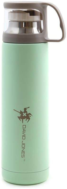 David Jones Thermosteel Flask Set of 1 ( Green , Stainless Steel ,  500 ml )