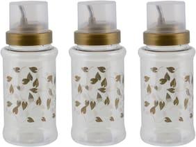 DDice 700 ml Plastic Oil & Vinegar Dispensers - Set of 3