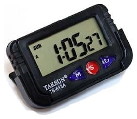 De-Autocare Plastic Digital Table clock ( Set of 1 )