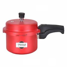De' Prism Aluminium Pressure Cooker;3 L Without Induction